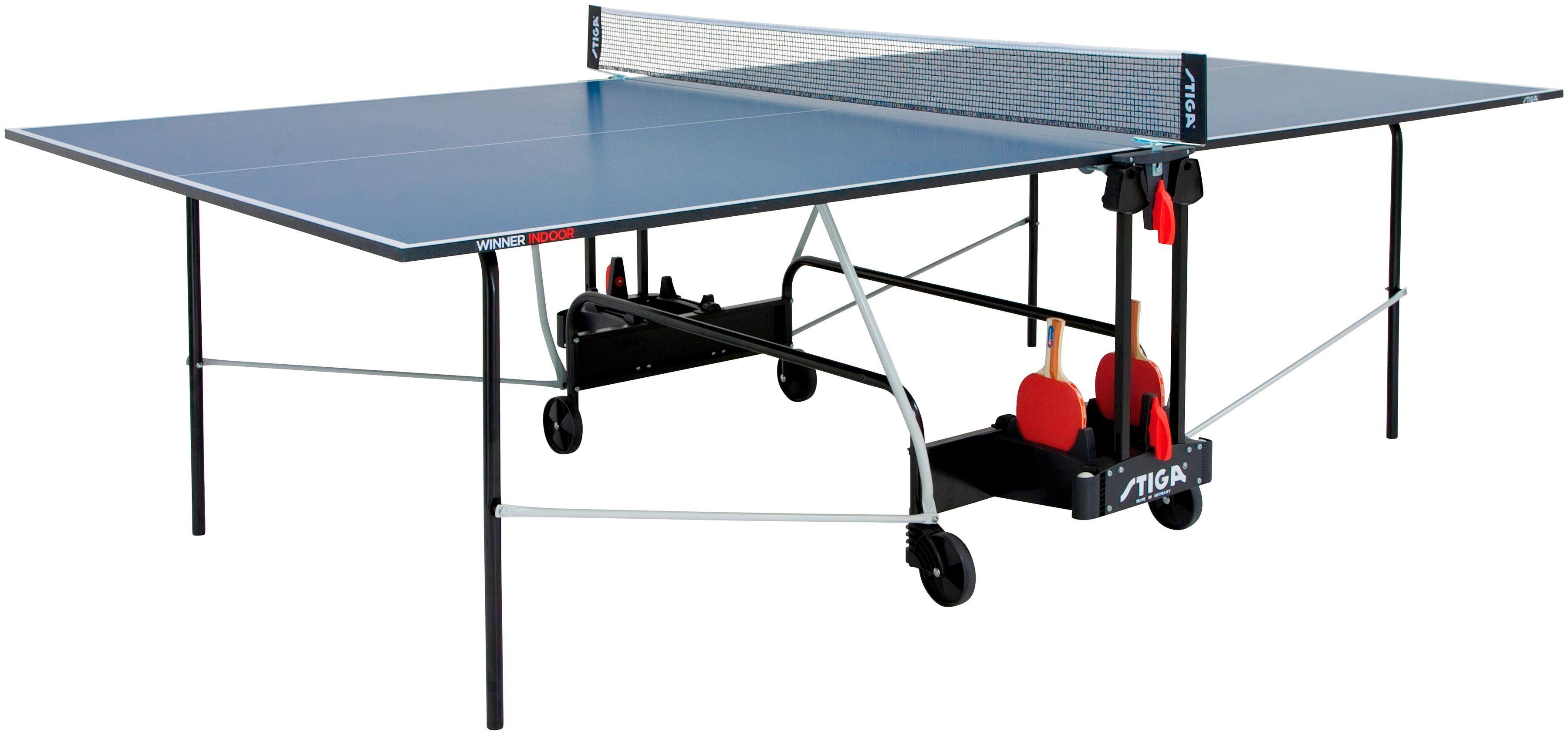STIGA Tischtennisplatte »Winner Indoor«, BxLxH: 152,5x274x76 cm
