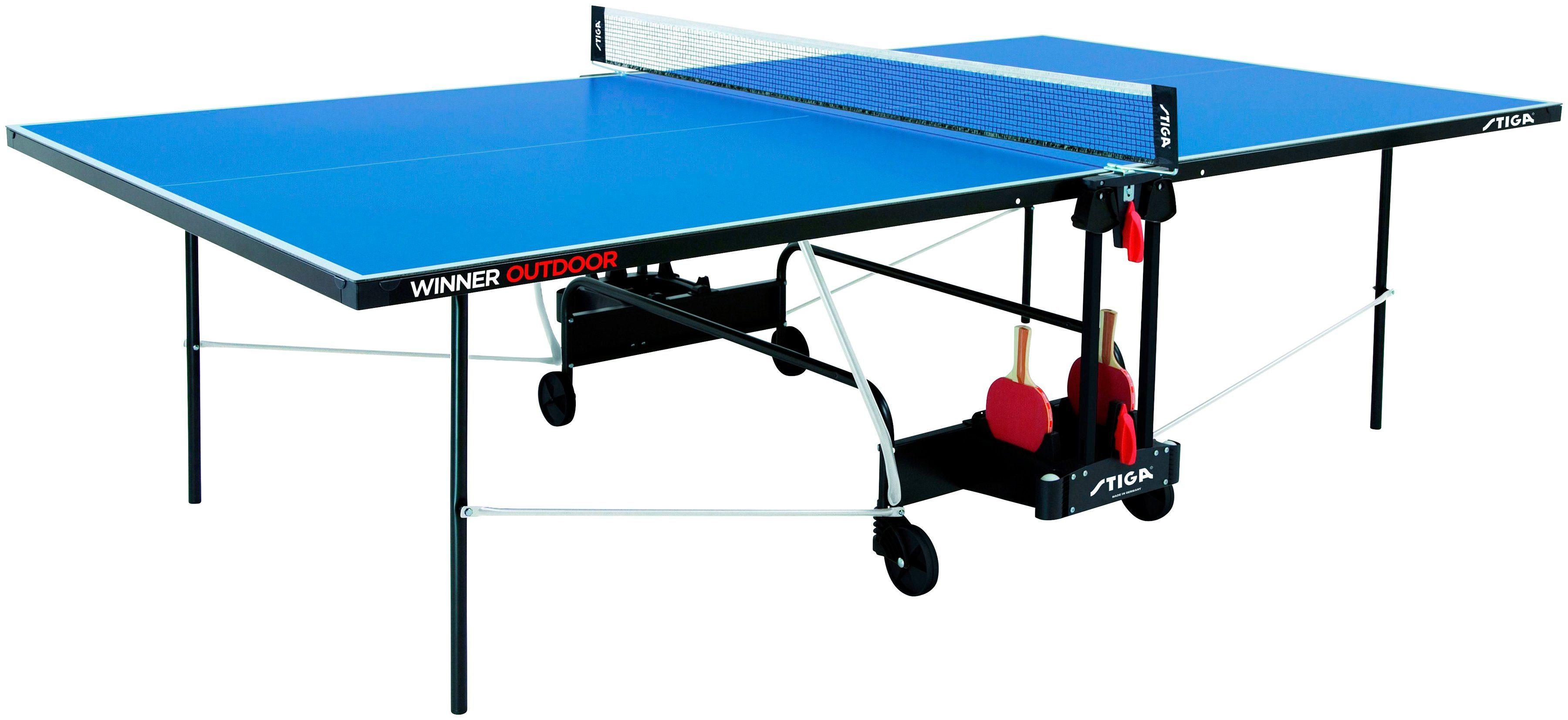 STIGA Tischtennisplatte »Winner Outdoor«, BxLxH: 152,5x274x76 cm