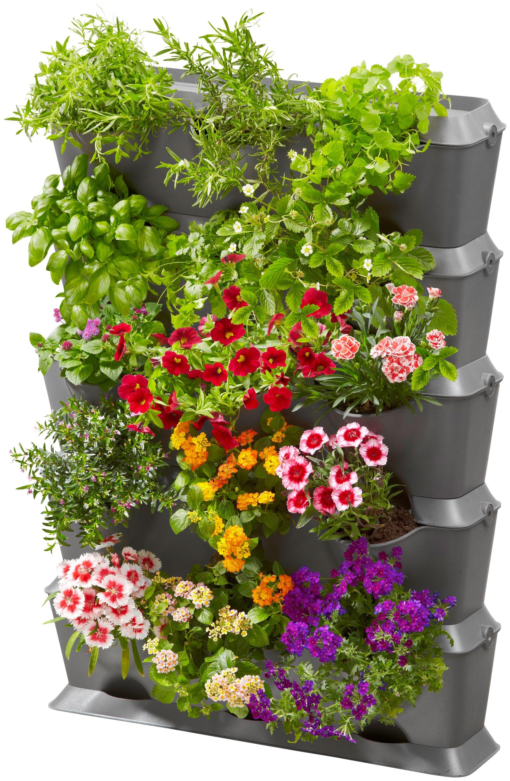 GARDENA Pflanzkasten »NatureUp!«, Set-Vertikal mit Bewässerung