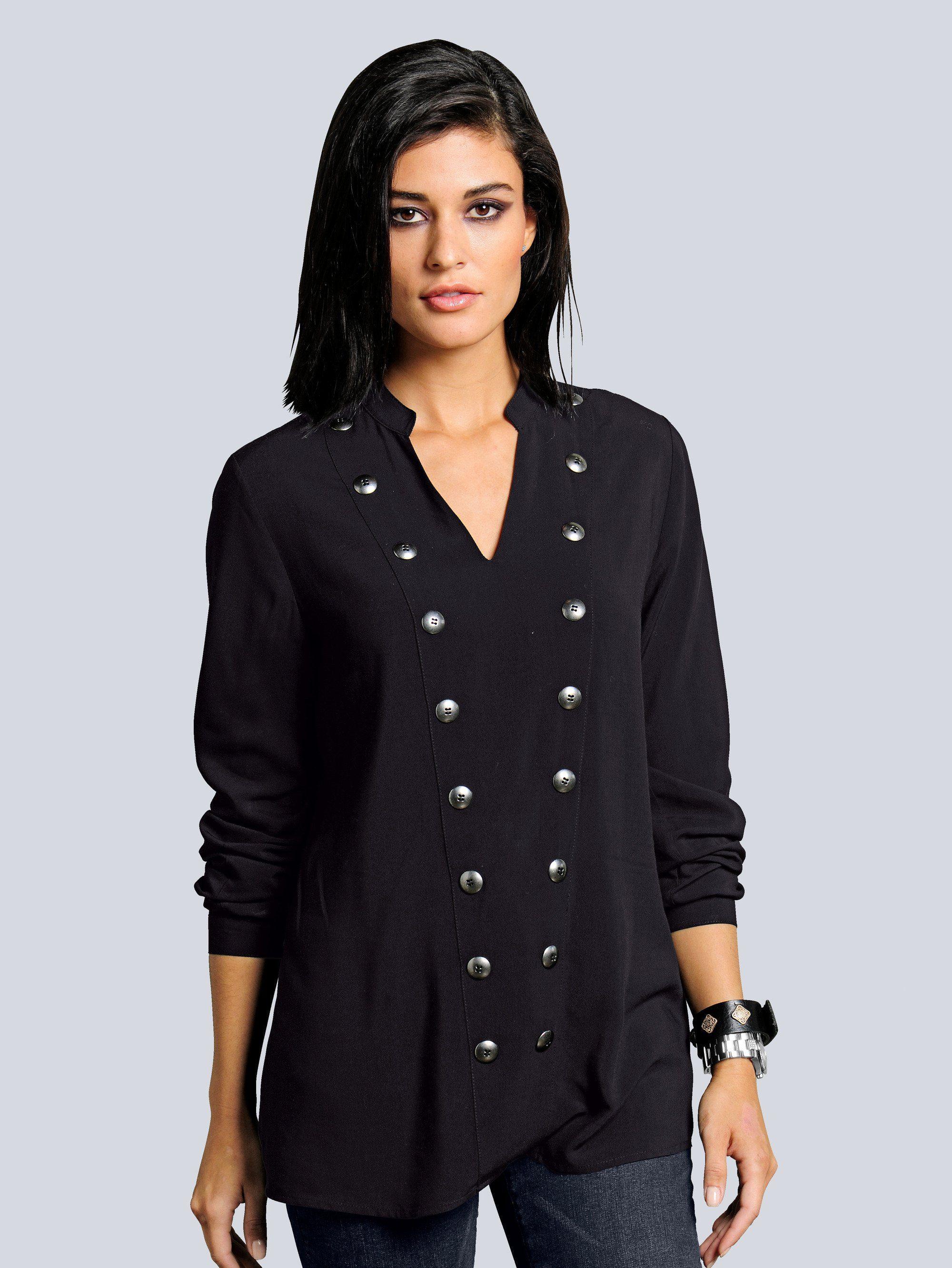 alba moda damen blazer im angesagten military style