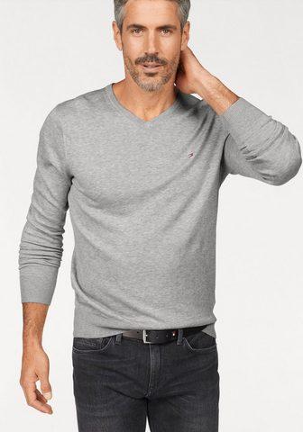 TOMMY HILFIGER Пуловер с V-образным вырезом »CO...