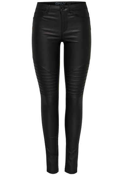 36f150b5392e Only Skinny-fit-Jeans »NEW ROYAL« mit coolen Bikernähten