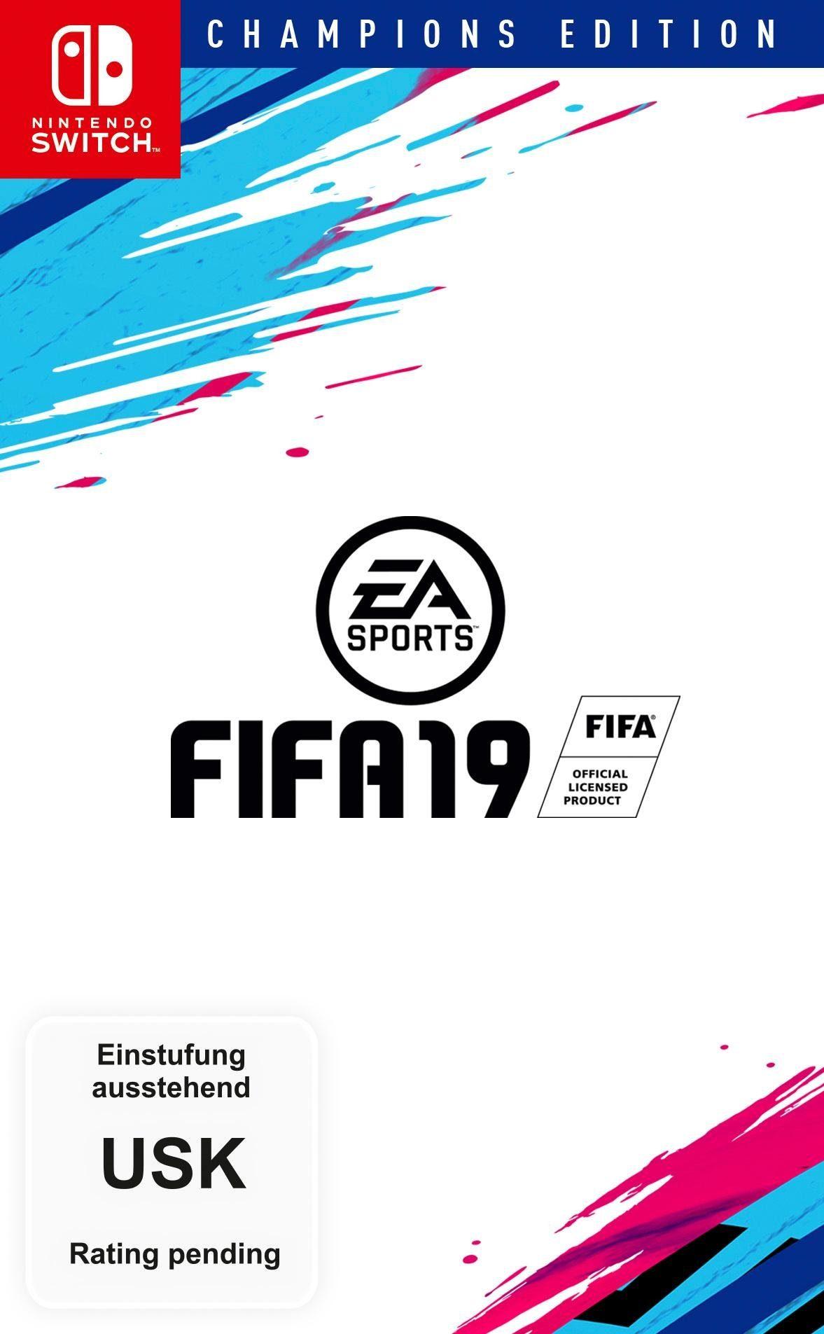 Fifa 19 Champions Edition Nintendo Switch