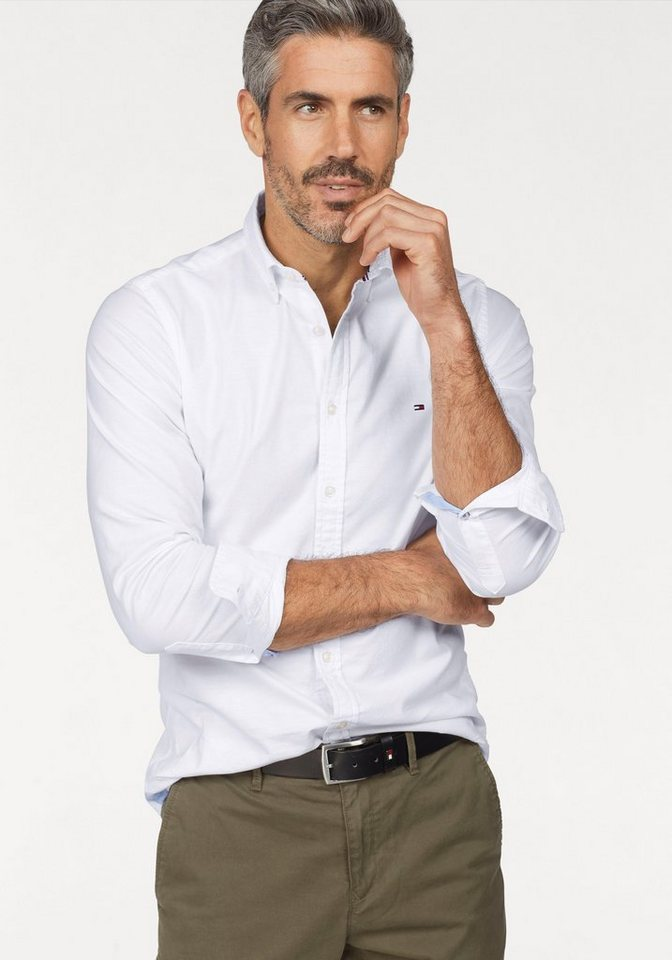 Tommy Hilfiger Hemd »CORE STRETCH SLIM OXFORD SHIRT« online kaufen ... bc2526398b