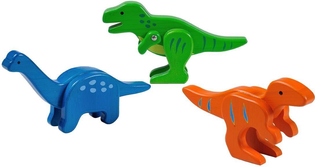 EverEarth® Holzspielzeug, »Bambus Dinosaurier-Zoo«