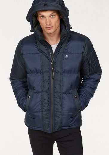 G-Star RAW Steppjacke »Whistler quilted hdd« Obermaterial aus recycelten Polyester