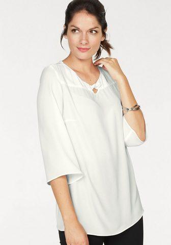 BLACK WHITE Блузка на выпуск