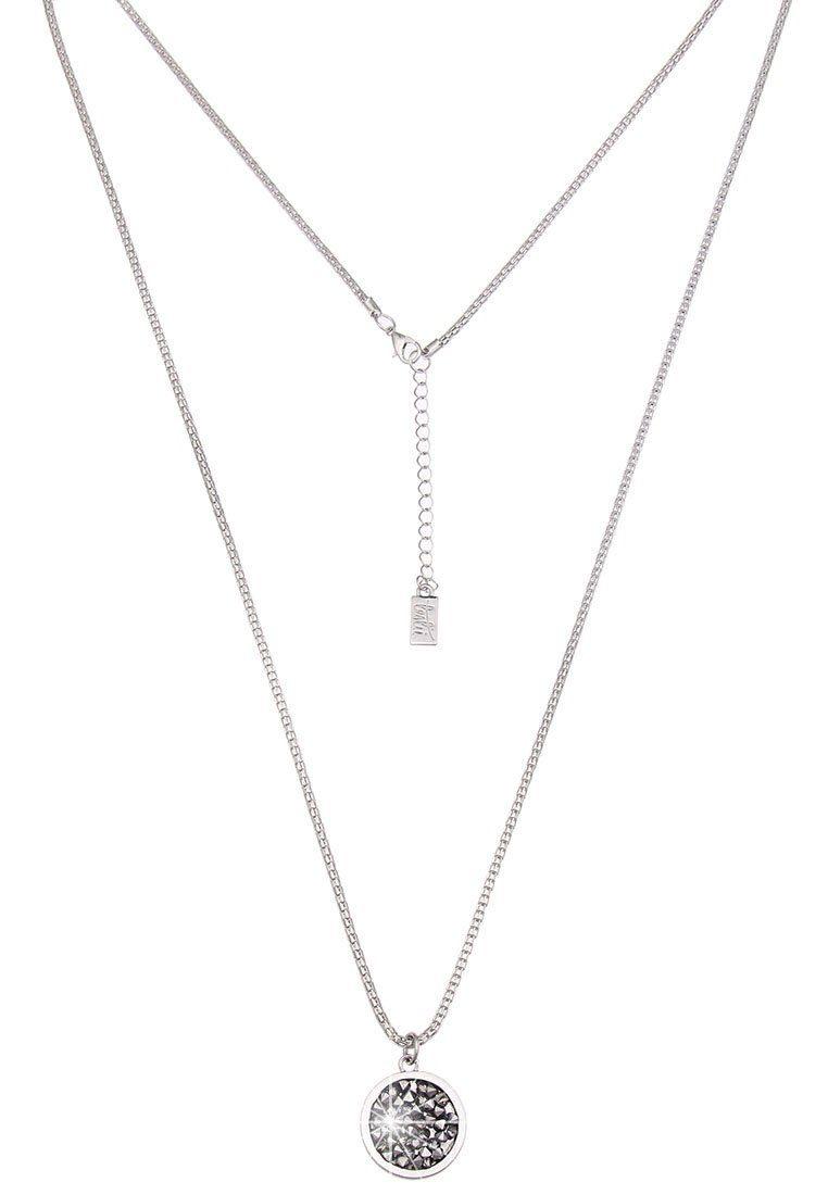 Leslii Halskette mit funkelndem Steinanhänger