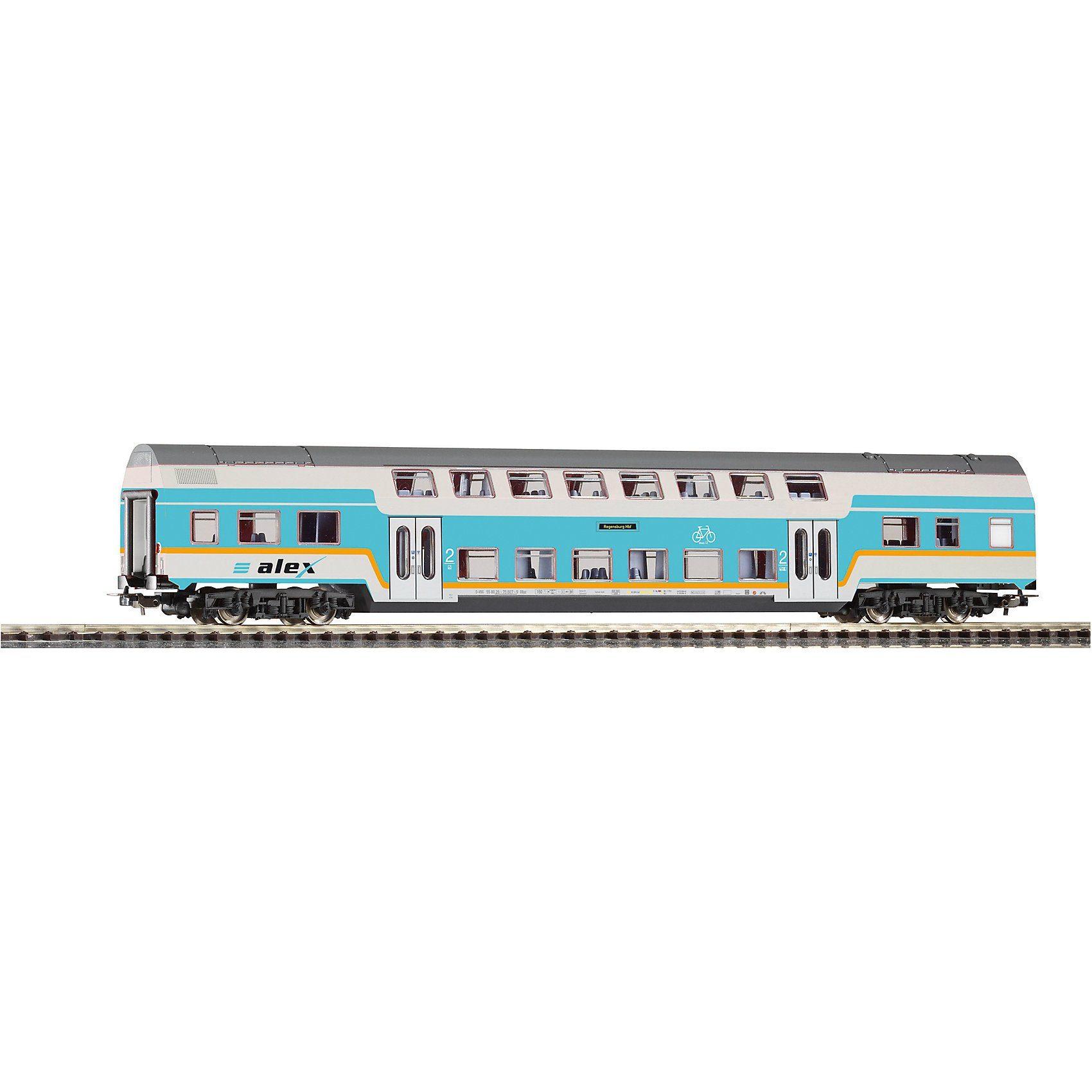 PIKO H0 Doppelstock Personenwagen 2. Klasse ALEX VI