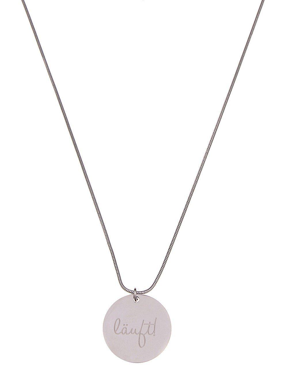Leslii Halskette mit zweiseitigem Anhänger