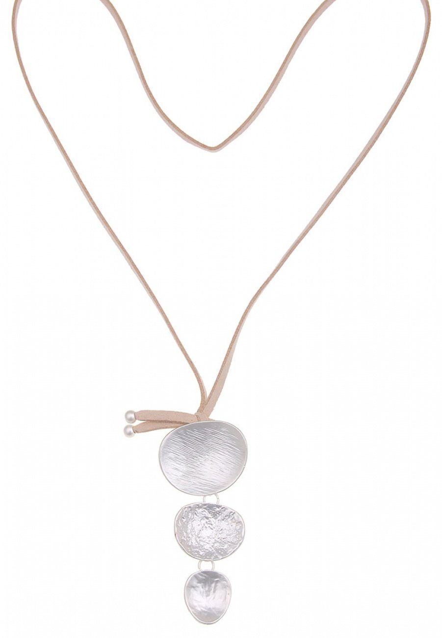 Leslii Halskette mit dreiteiligem Anhänger