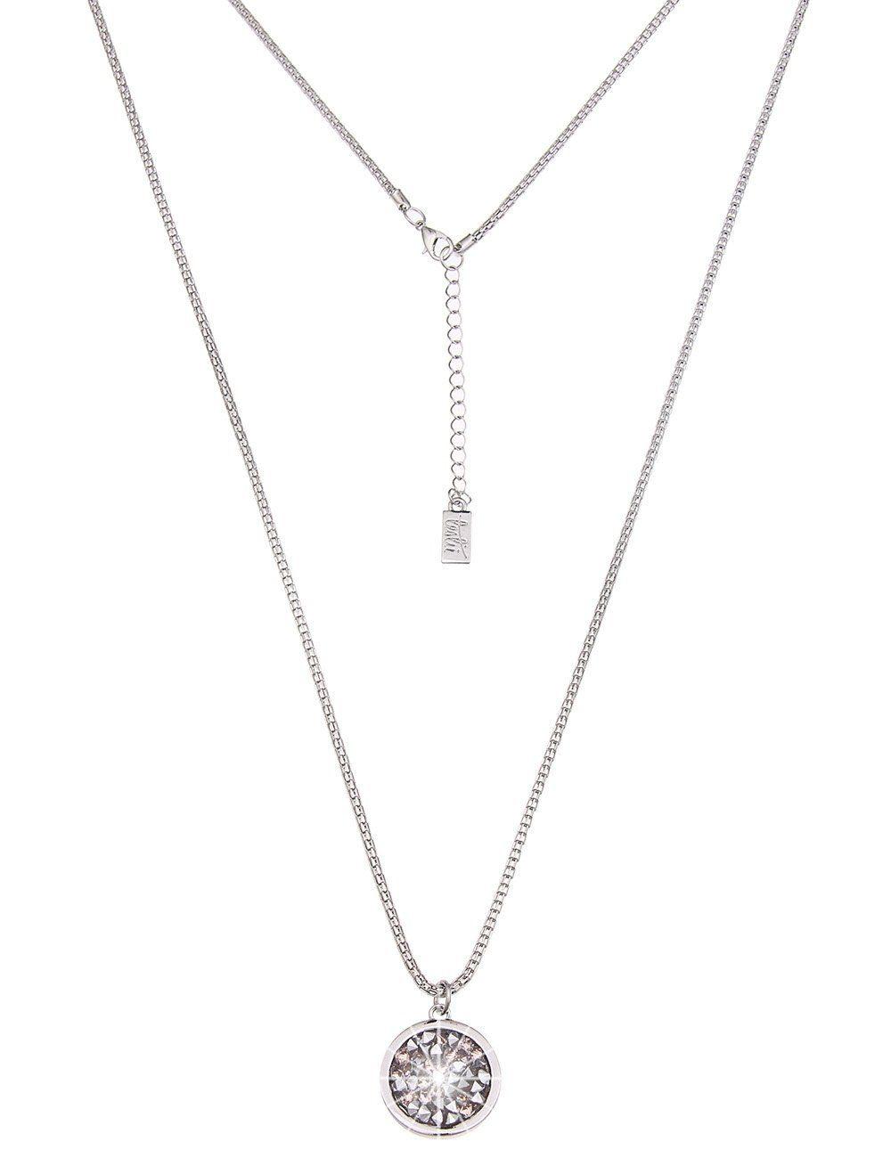 Leslii Halskette mit rundem Anhänger