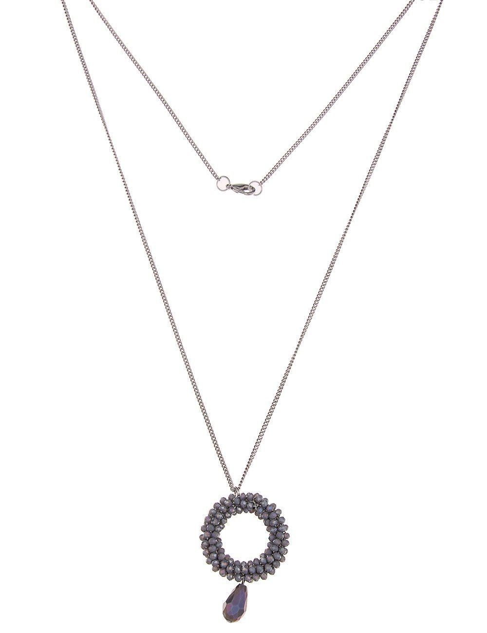 Leslii Halskette mit Ring-Anhänger