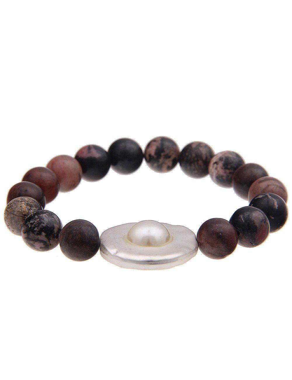 Leslii Armband mit Natursteinen