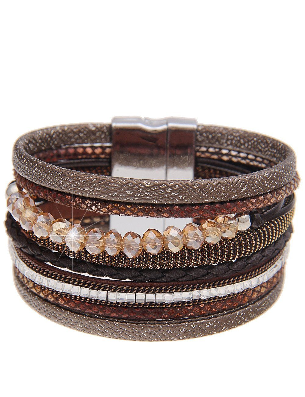 Leslii Armband mit tollem Mustermix