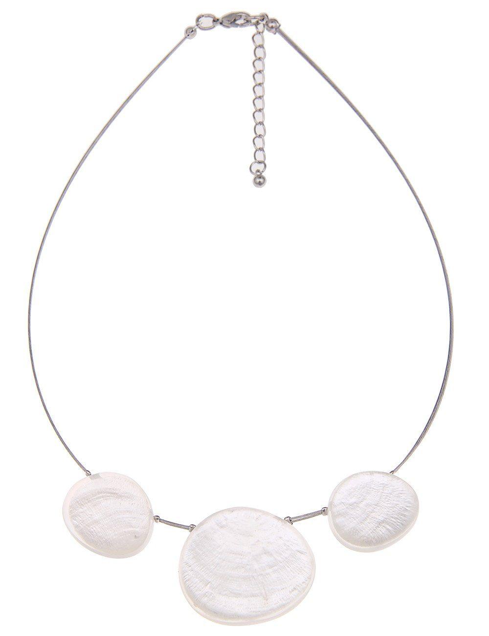 Leslii Halskette mit Capiz-Muscheln