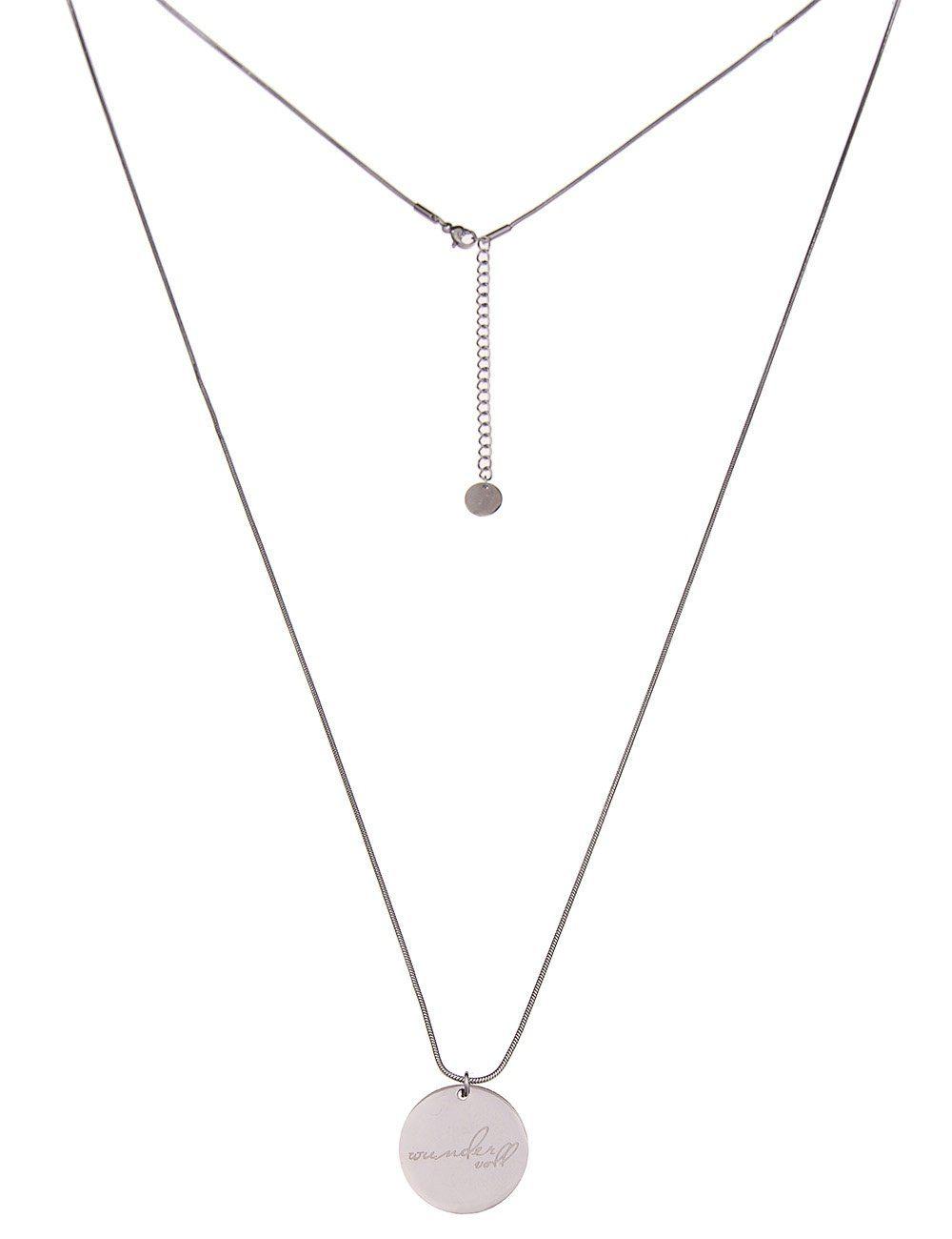 Leslii Halskette mit runden Anhängern