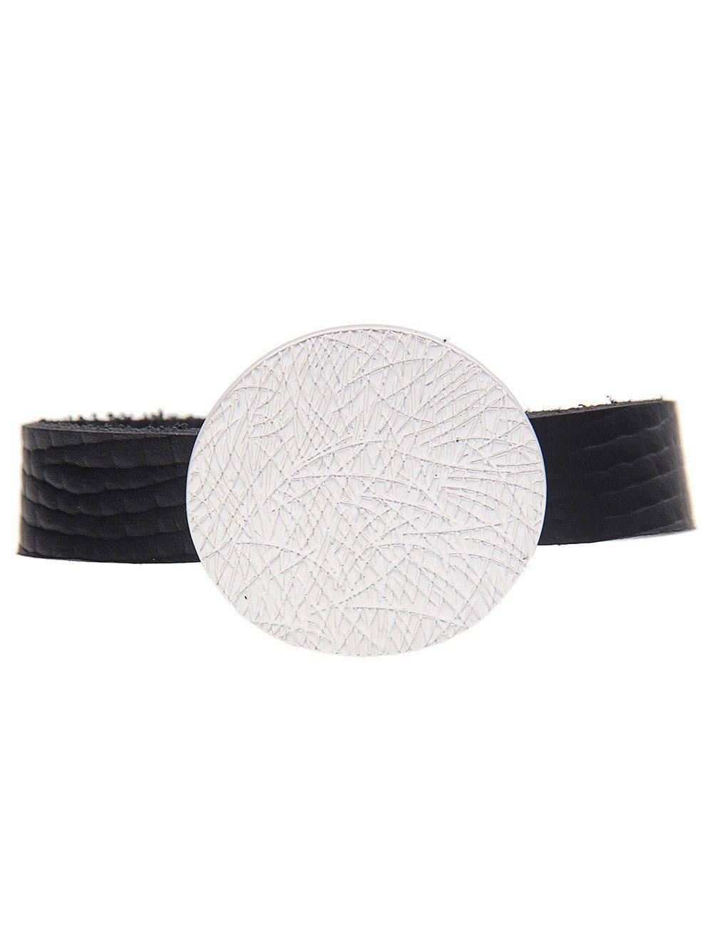 Leslii Armband mit runder Scheibe