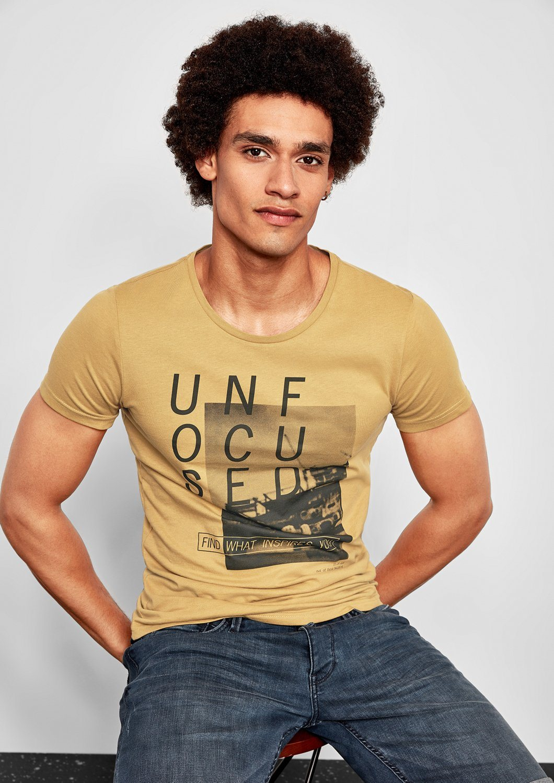 Q S designed by Jerseyshirt mit Fotoprint