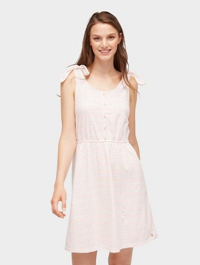 TOM TAILOR Denim Sommerkleid »Gestreiftes Kleid«