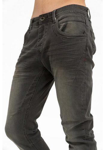 Herren trueprodigy Tapered-fit-Jeans Vex 603 schwarz | 04057124022421