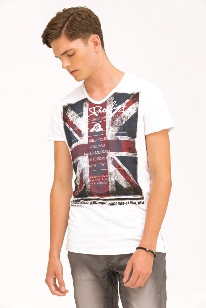 trueprodigy T-Shirt »EUnion Jack« | Bekleidung > Shirts > Sonstige Shirts | trueprodigy