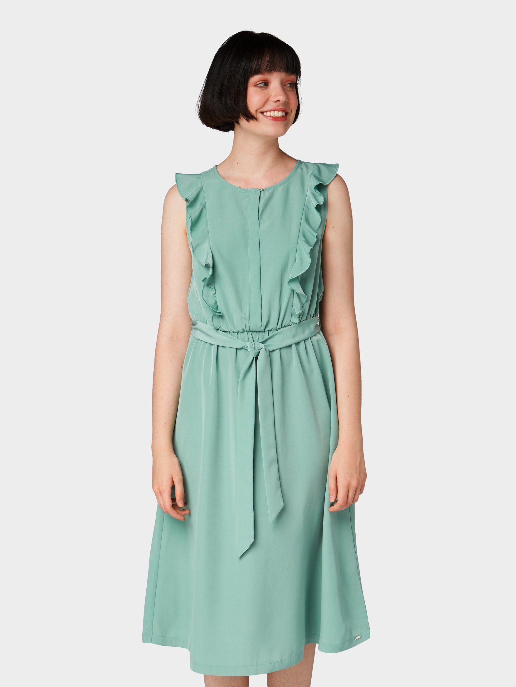 Mit KaufenOtto Linien Rüschen« Kleid Online A Tailor Tom Denim »kleid OnwPk0