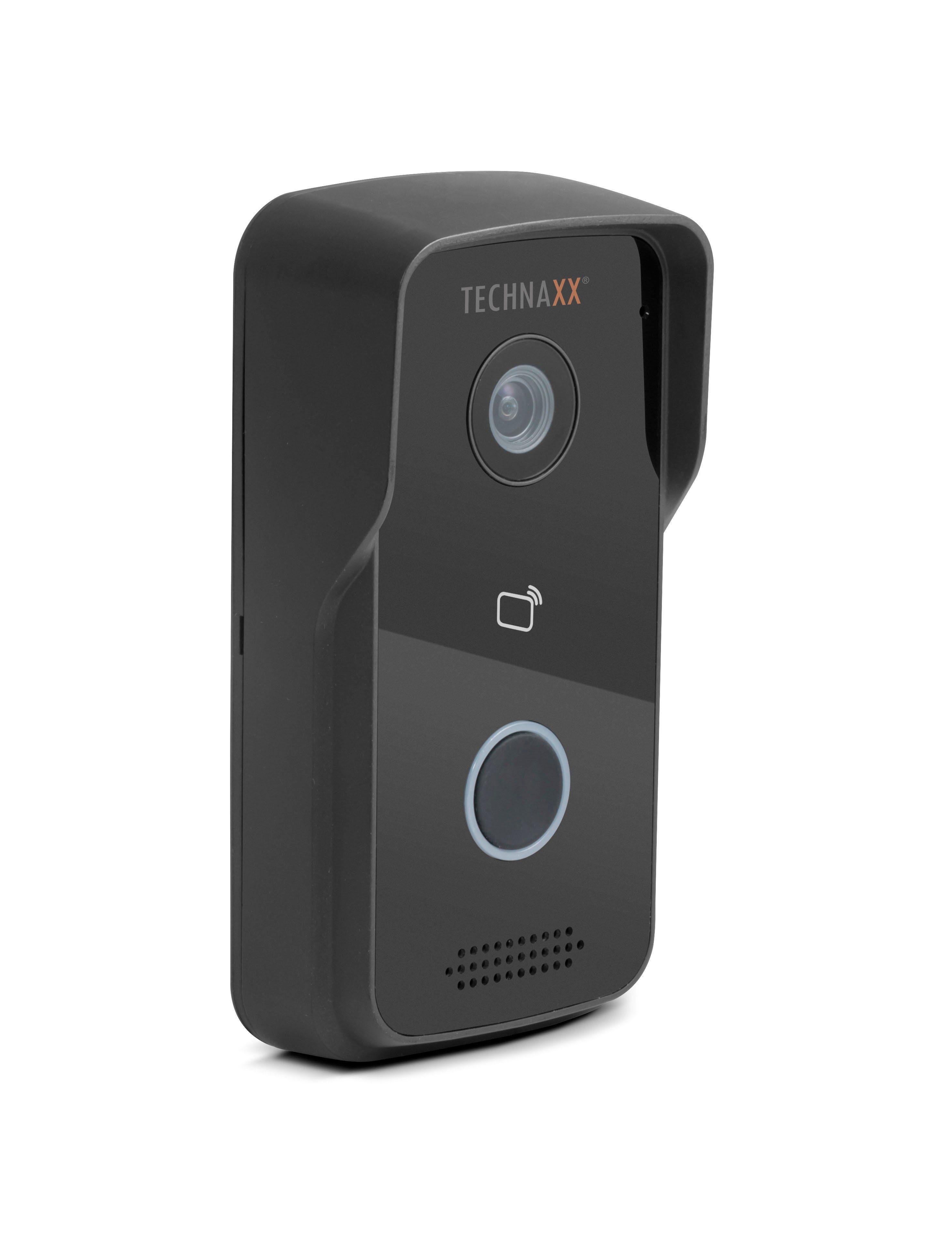 Technaxx Smart Home Kamera »Smart WiFi Video-Türtelefon TX-82 schwarz«