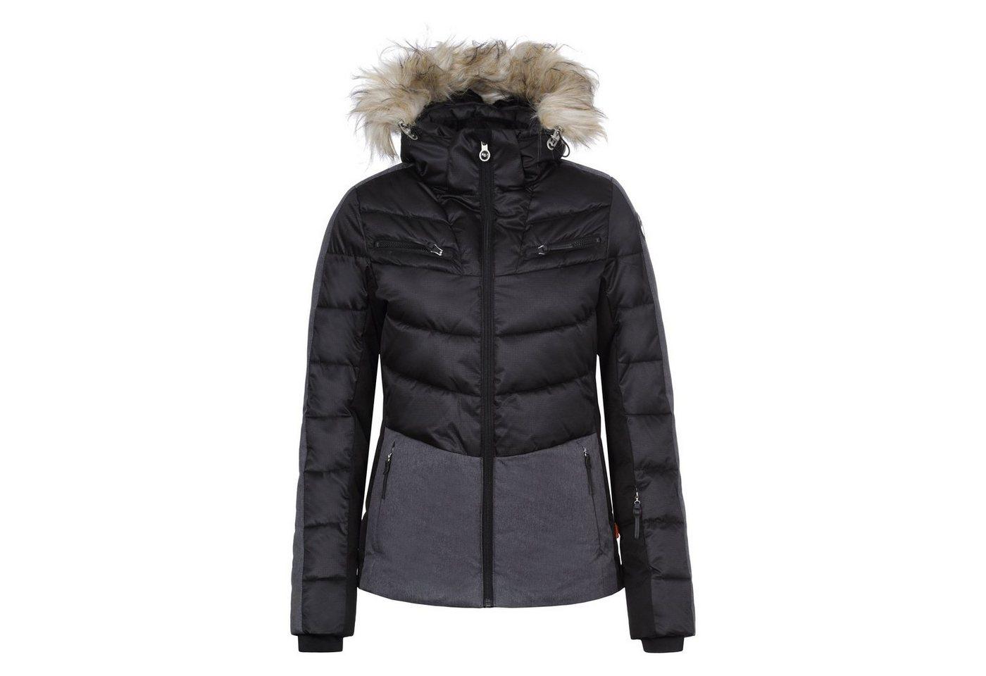 Icepeak Skijacke »Cathy 53205-635« | Sportbekleidung > Sportjacken > Skijacken | Schwarz | Lycra | Icepeak