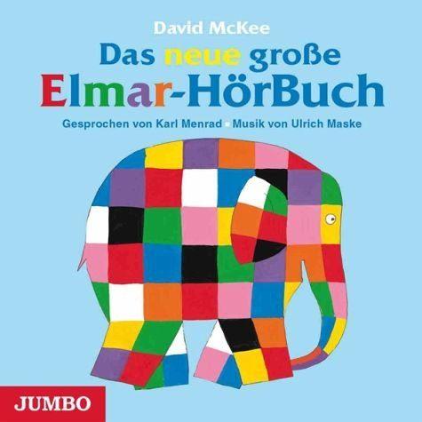 Audio CD »David McKee: Das Neue Grosse Elmar-Hörbuch«