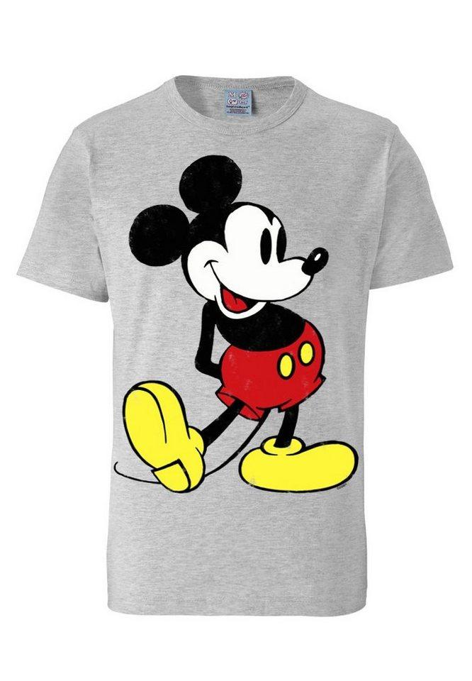 LOGOSHIRT T-Shirt mit Mickey Mouse - Print »Mickey Mouse - Disney ...