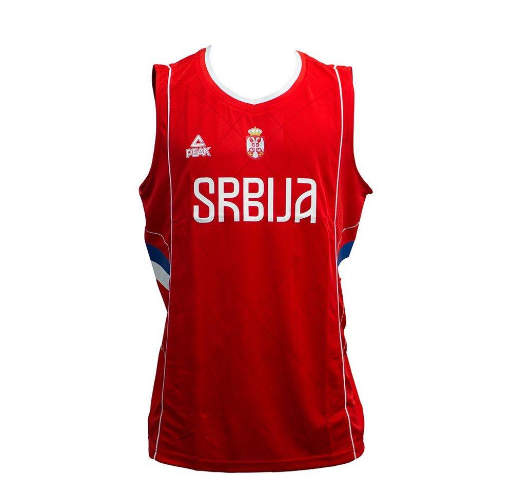 PEAK Basketballtrikot der Serbischen Nationalmannschaft »Serbia 2016«   Sportbekleidung > Trikots > Basketballtrikots   Rot   PEAK