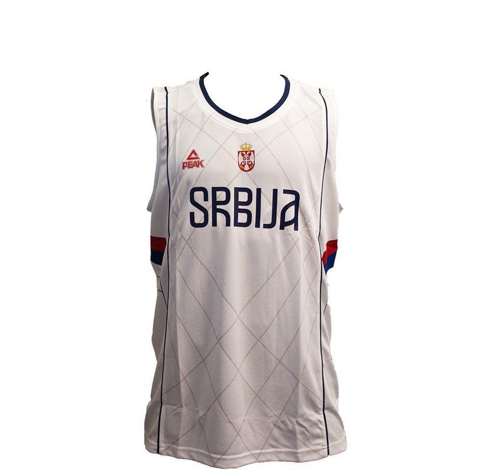 PEAK Basketballtrikot der Serbischen Nationalmannschaft »Serbia 2016« | Sportbekleidung > Trikots > Basketballtrikots | Weiß | PEAK