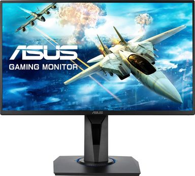 Asus VG255H Gaming-LED-Monitor (1920 x 1080 Pixel, Full HD, 1 ms Reaktionszeit, 75 Hz)