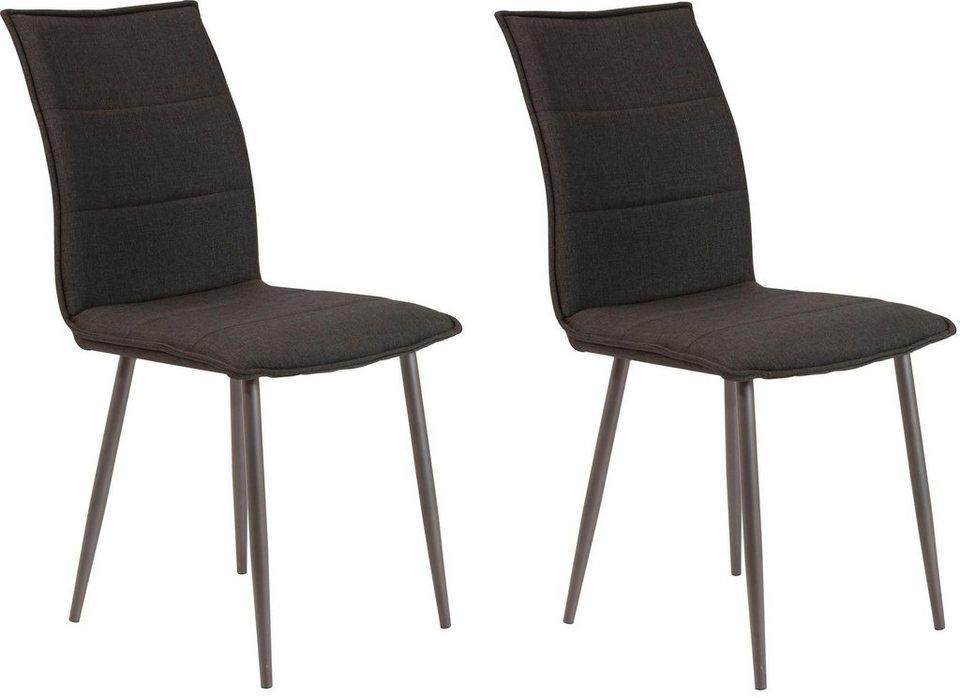 st hle 2 oder 6 st ck sitz und r cken gepolstert online kaufen otto. Black Bedroom Furniture Sets. Home Design Ideas