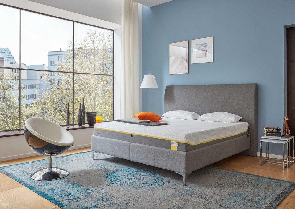 visco matratze sensation elite tempur 25 cm hoch mit cooltouch technologie online kaufen. Black Bedroom Furniture Sets. Home Design Ideas