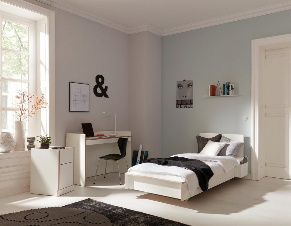 m ller bett flai wahlweise mit oder ohne kopfteil online. Black Bedroom Furniture Sets. Home Design Ideas