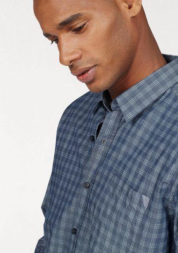 Denim In Label Optik S oliver Red Langarmhemd gq6HHwT