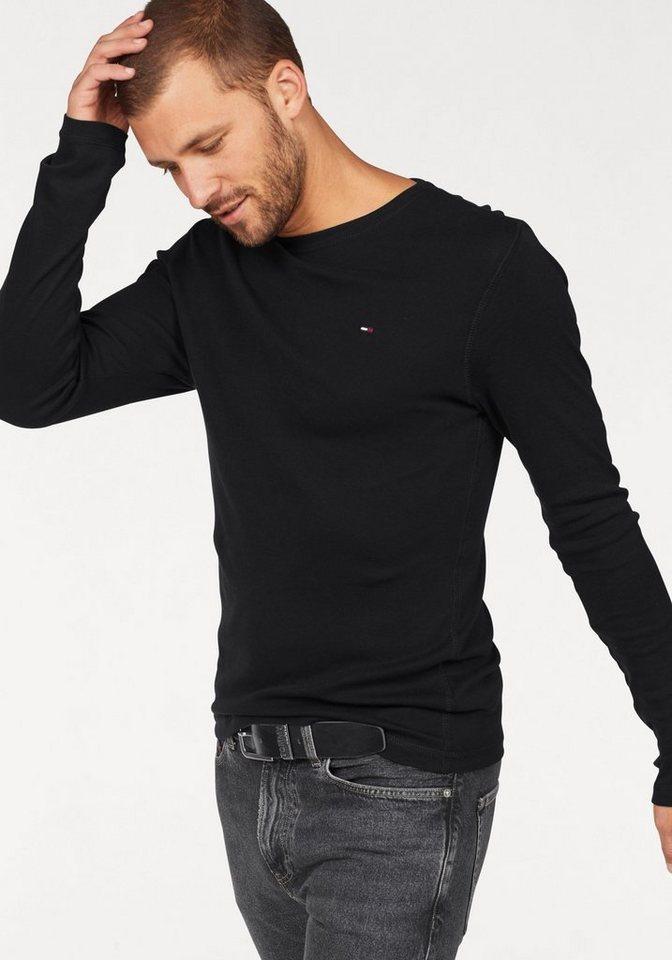 95852cd9 Tommy Jeans T-Shirt »TJM ORIGINAL RIB LONGSLEEVE TEE« online kaufen ...