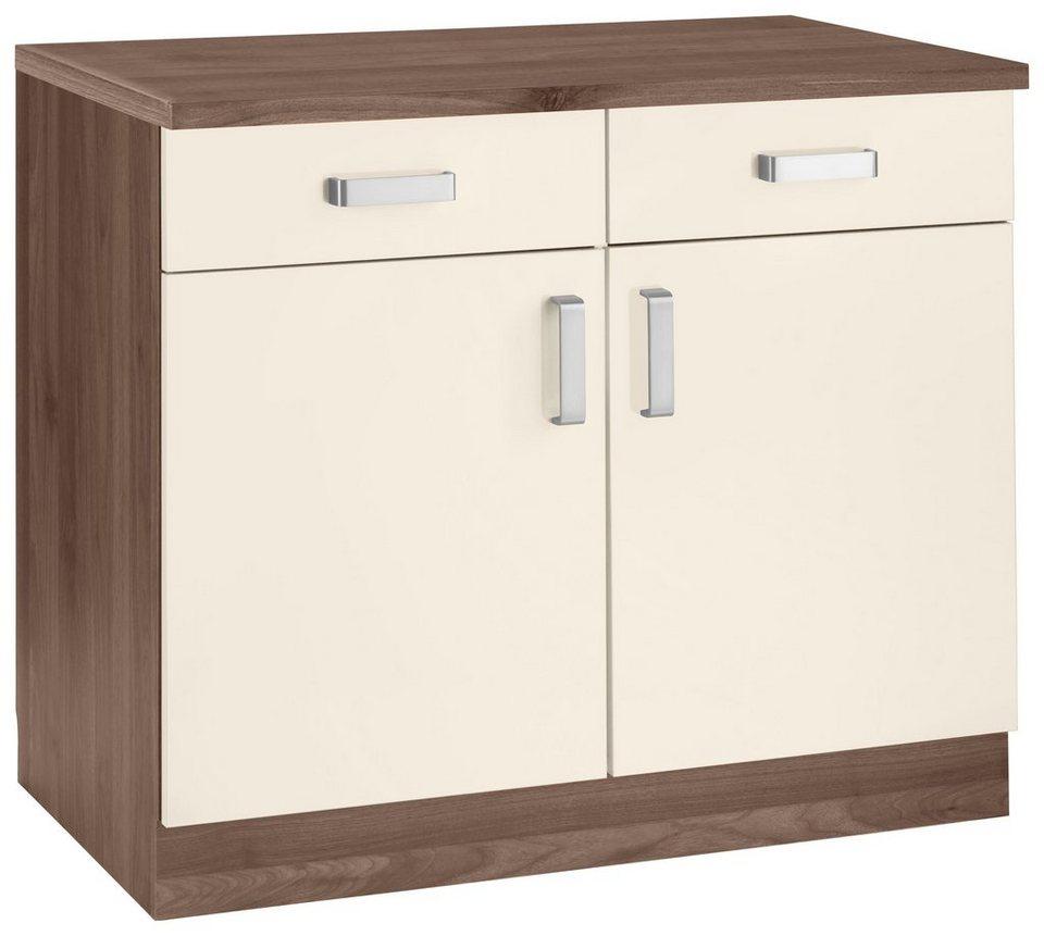 wiho k chen unterschrank tacoma breite 100 cm otto. Black Bedroom Furniture Sets. Home Design Ideas