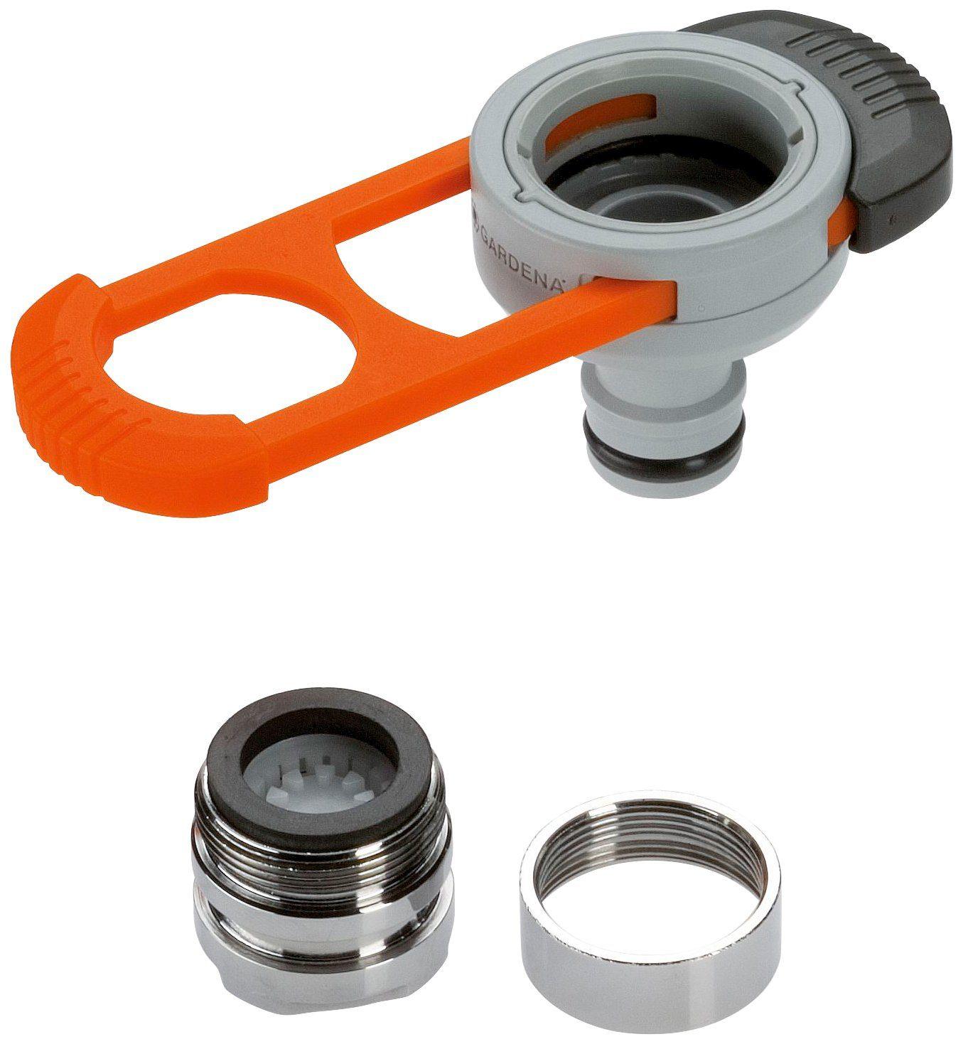 """GARDENA Schlauchanschlussstück »08187-20«, 13mm (1/2"""") - 19mm (3/4"""")"""