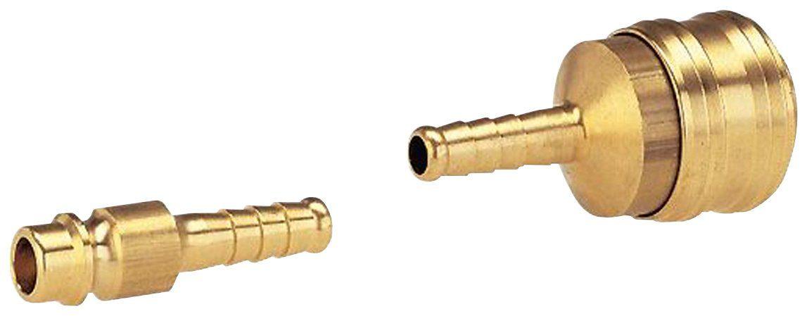 GARDENA Kupplung »07350-20«, für 6 mm Transparent-Schlauch mit Gewebe