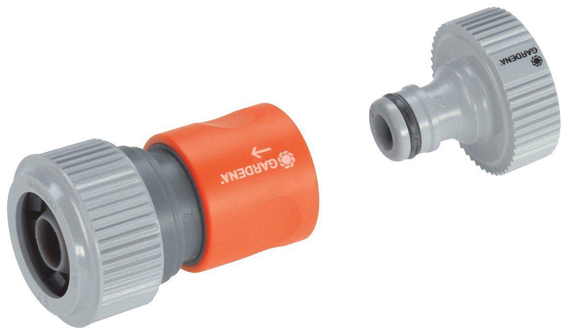 GARDENA Anschlussset »01750-20«, für Pumpen, 33,3 mm (G 1)-Außengewinde