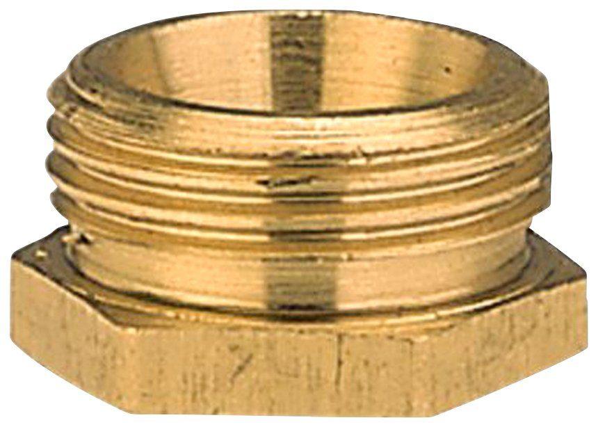 GARDENA Reduzierstück , Messing, 33,3 mm (G 1)-Außen / 26,5 mm (G 3/4)-Innen