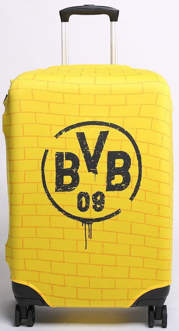 Kofferhülle für Hartschalentrolleys von 57 cm bis 67 cm, »Bundesliga, Borussia Dortmund«