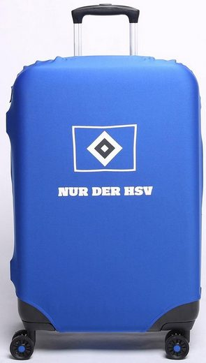 Kofferhülle für Hartschalentrolleys von 67 cm bis 77 cm, »Bundesliga, Hamburger SV«