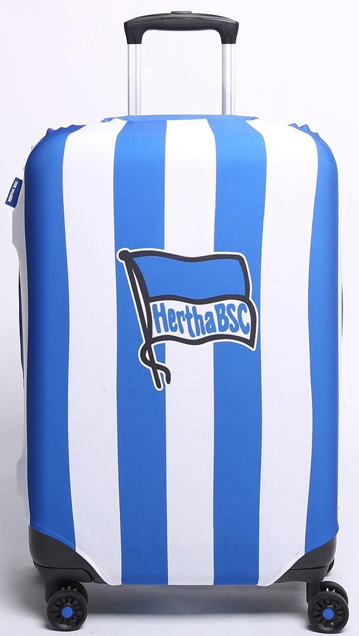 Kofferhülle für Hartschalentrolleys von 57 cm bis 67 cm, »Bundesliga, Hertha BSC«