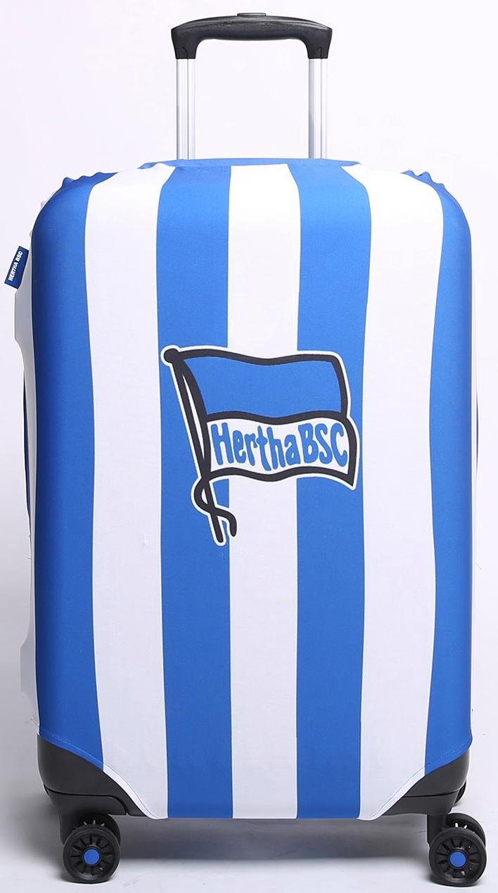 Kofferhülle für Hartschalentrolleys von 67 cm bis 77 cm, »Bundesliga, Hertha BSC«