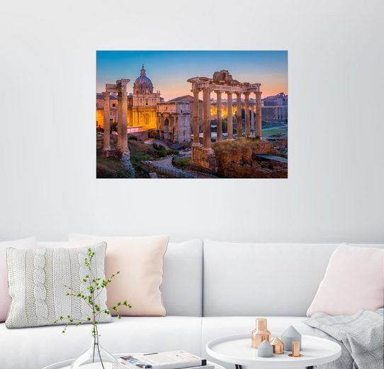 Posterlounge Wandbild - age fotostock »Das Forum Romanum«