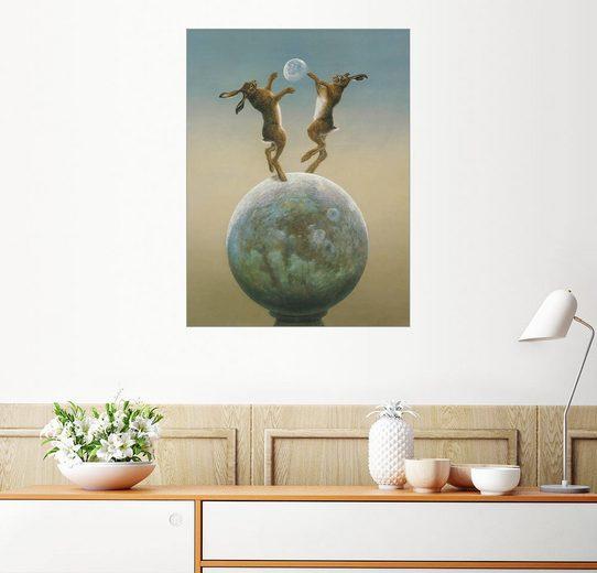 Posterlounge Wandbild - Tim Hayward »Devon Moon.«